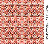 vector angular colorful pattern.... | Shutterstock .eps vector #514139902
