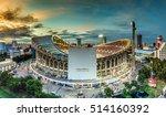 rajamangala stadium is the... | Shutterstock . vector #514160392