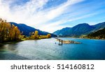 harrison river at harrison... | Shutterstock . vector #514160812