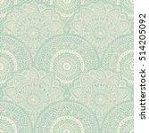 seamless pattern. hand drawn... | Shutterstock .eps vector #514205092