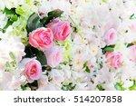 flower with  wedding flowers   Shutterstock . vector #514207858