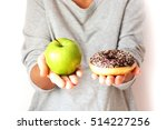 healthy lifestyle or nutrition... | Shutterstock . vector #514227256