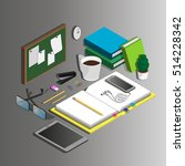 isometric. vector illustration... | Shutterstock .eps vector #514228342