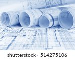 architectural project  | Shutterstock . vector #514275106