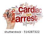 cardiac arrest word cloud   Shutterstock . vector #514287322