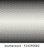 abstract geometric black and... | Shutterstock .eps vector #514290082