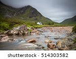 white cottage at the banks of... | Shutterstock . vector #514303582
