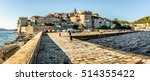 Panorama Of Old Historic Town...