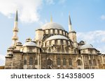Yeni Cami Mosque At Istanbul ...