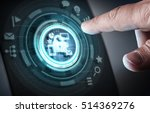 user digital display . mixed... | Shutterstock . vector #514369276