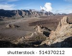 the ucanca valley in tenerife ... | Shutterstock . vector #514370212