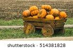 decorative cart laden by... | Shutterstock . vector #514381828