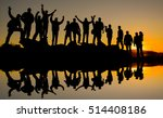 a community of positive people | Shutterstock . vector #514408186