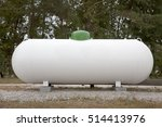 industrial propane tank   Shutterstock . vector #514413976