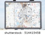 grunge metal billboard close up   Shutterstock . vector #514415458