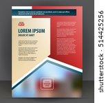 magazine  flyer  brochure ... | Shutterstock .eps vector #514425256