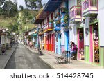 salento  colombia   october 4 ... | Shutterstock . vector #514428745