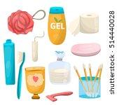 woman hygiene  man hygiene  big ... | Shutterstock .eps vector #514440028