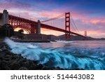 Golden Gate Bridge In San...