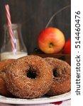 Homemade Apple Cider Donuts  ...
