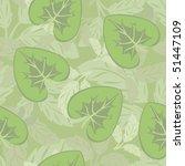 floral seamless pattern | Shutterstock .eps vector #51447109