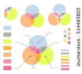 venn diagram with note lines ... | Shutterstock .eps vector #514485805