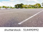 empty space parking lot outdoor ... | Shutterstock . vector #514490992