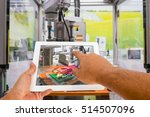 industry 4.0 and augmented... | Shutterstock . vector #514507096