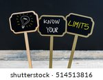 concept message know your... | Shutterstock . vector #514513816
