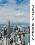 kuala lumpur  malaysia  ... | Shutterstock . vector #514515526