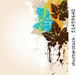 vector grunge background | Shutterstock .eps vector #51459640