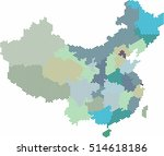 blue circle shape china and... | Shutterstock .eps vector #514618186