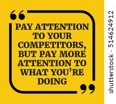motivational quote. pay... | Shutterstock .eps vector #514624912