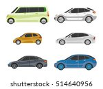 design of cars of different... | Shutterstock .eps vector #514640956