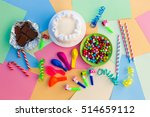 cake  candy  chocolate ... | Shutterstock . vector #514659112