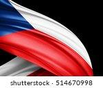 Czech Republic Flag Of Silk...