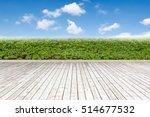 texture of wooden boards floor | Shutterstock . vector #514677532