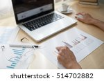 male hand using computer... | Shutterstock . vector #514702882