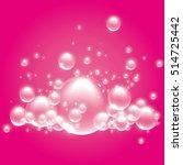 bubble bath | Shutterstock . vector #514725442