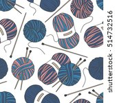 seamless pattern with tools for ... | Shutterstock .eps vector #514732516