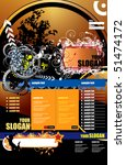 web page layout | Shutterstock .eps vector #51474172