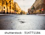 city streets late autumn  the... | Shutterstock . vector #514771186