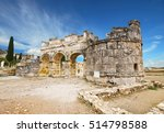 ancient city of hierapolis ... | Shutterstock . vector #514798588