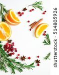 winter warmer drink recipe... | Shutterstock . vector #514805926