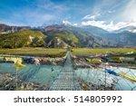 Suspension Bridge With Buddhis...