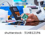 assembly of electronic devices  ... | Shutterstock . vector #514812196