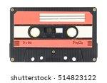 Old Audio Tape Compact Cassett...