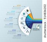 unusual infographic design... | Shutterstock .eps vector #514836202