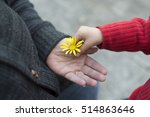 granny and granddaughter... | Shutterstock . vector #514863646