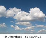 early winter sky or early... | Shutterstock . vector #514864426